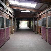 main barn interior